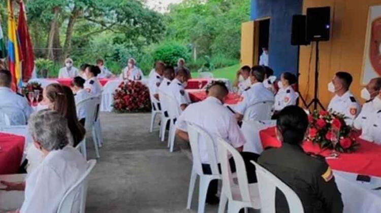 Bomberos Voluntarios de Andes conmemoró 36 años de servicio