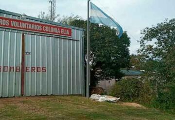 Cambios en el cuartel de Bomberos Voluntarios de Colonia Elía