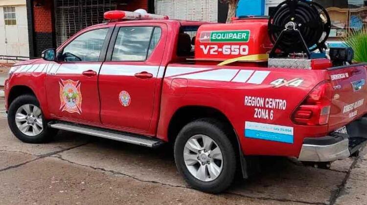 Bomberos de Tapalqué cuenta con un nuevo equipo de ataque rápido