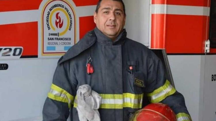 Dolor por la muerte de un bombero voluntario por coronavirus