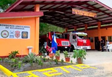 Inauguran estación de bomberos en El Jícaro