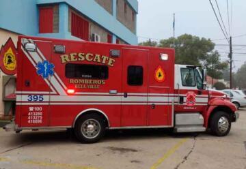 Bomberos de Bell Ville presentó una nueva Unidad de rescate