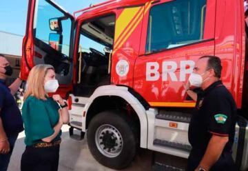 Un nuevo vehículo para los bomberos de Alcalá