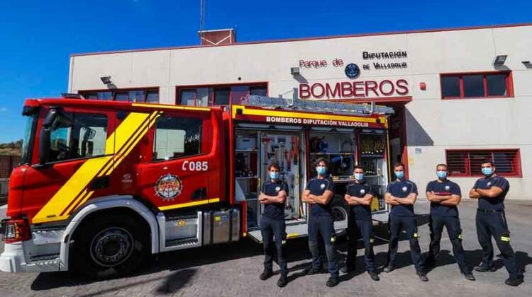 Incorporan un nuevo vehículo de bomberos
