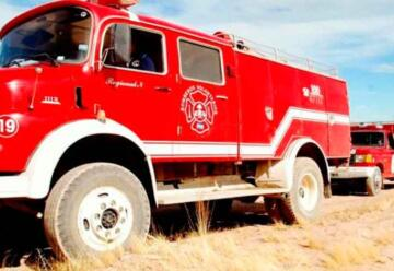 Irregularidades: Intervienen los bomberos de Tamburrini