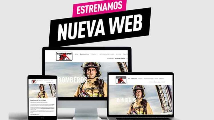 La empresa Servicios FF SRL renueva su web