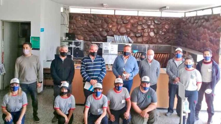 Inauguraron el cuartel de Bomberos Voluntarios de Rama Caída
