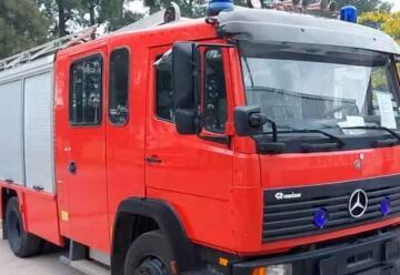 Bomberos de Madariaga adquirieron una nueva autobomba