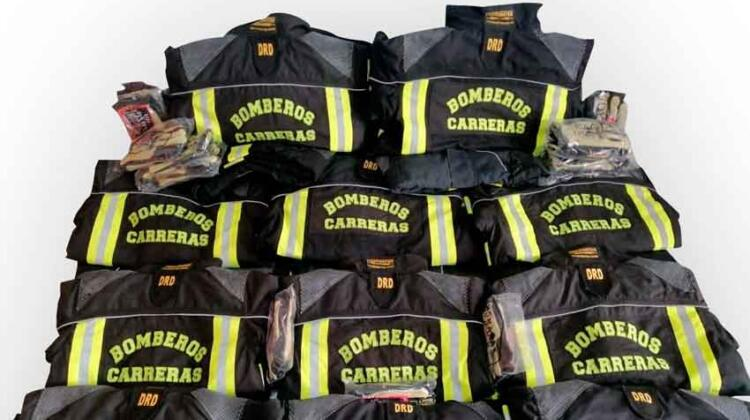 Bomberos de Santa Fe recibieron equipamiento estructural