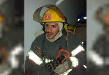 Dolor por la muerte en El Maitén de un bombero voluntario