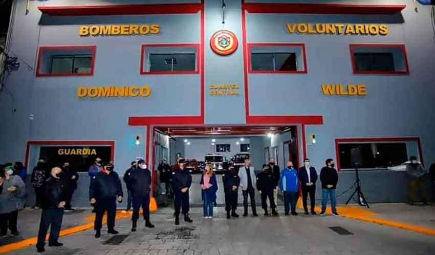 Nueva unidad y anexo del cuartel de los Bomberos Villa Domínico Wilde