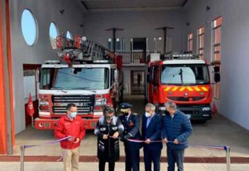 8ª Compañía de Bomberos de Viña del Mar cuenta con nuevo cuartel