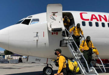 México envía bomberos para combatir incendio en Canada