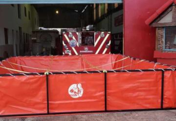 Bomberos Voluntarios adquiere pileta de abastecimiento