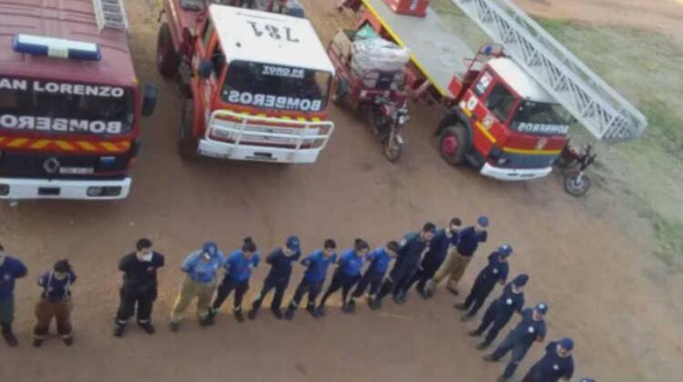 Piden renuncia de autoridades de los bomberos de San Lorenzo