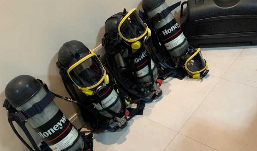 Bomberos Voluntarios de Rada Tilly con nuevos equipos
