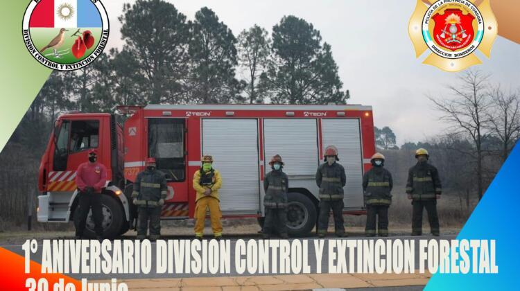 Brigada Forestal Dirección Bomberos Policía de Córdoba