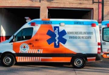 Bomberos de Franck presentaron su nueva unidad de rescate