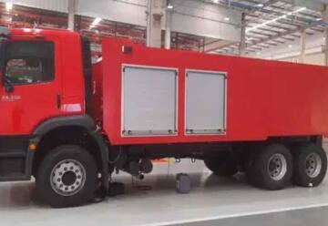 Avanza construcción de carros aljibe para seis Cuerpos de Bomberos