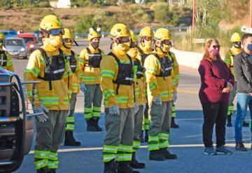 Bomberos de Potrero de los Funes con nueva Indumentaria de Protección