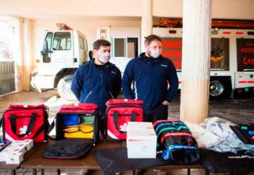 Donan equipamiento a Bomberos Voluntarios de Bragado
