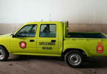 Presos restauraron una camioneta de los bomberos