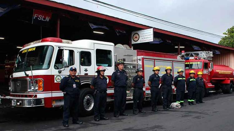 San Marcos en Carazo tendrá nueva estación de bomberos