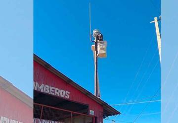 Cuartel de Bomberos de Los Molles ya tiene nueva sirena