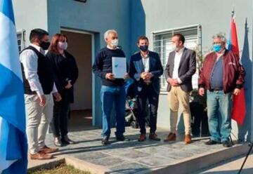 Bomberos voluntarios de Brugo ya tienen personería jurídica