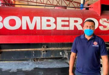 Bomberos de Tuxtla cuentan con pocos recursos