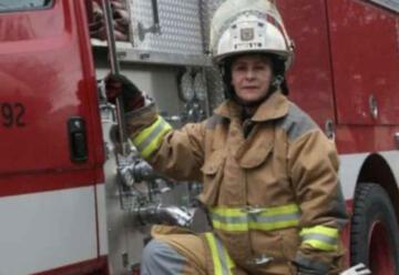 Murió la teniente de bomberos más antigua de Bogotá