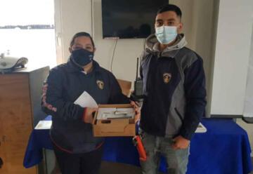 Bomberos adquieren nuevos equipos para emergencias