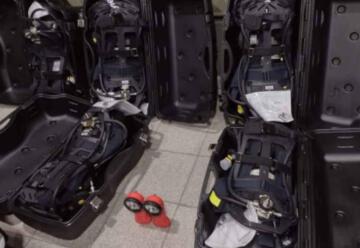 Bomberos de Rio Segundo con nuevos equipos de respiración autónoma