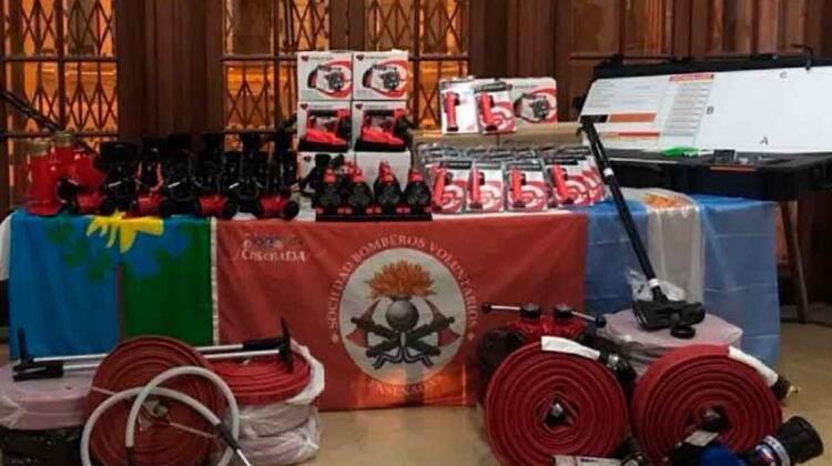 Bomberos Voluntarios de Ensenada adquirió nuevo equipamiento