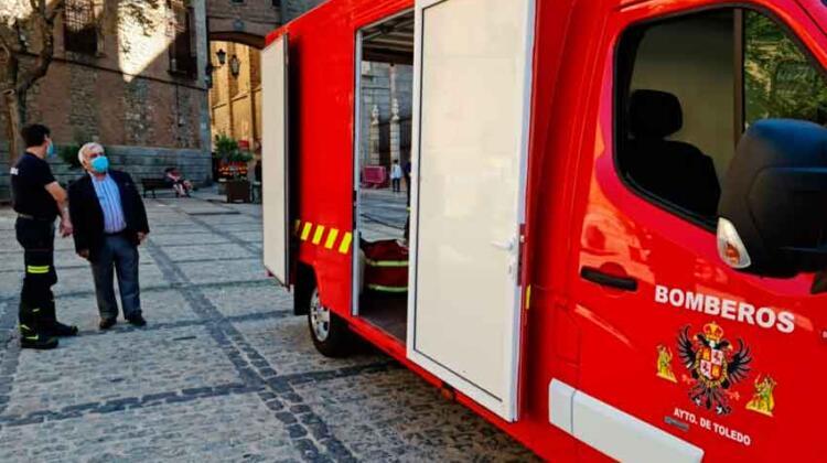 Bomberos de Toledo ya tienen su primer furgón eléctrico