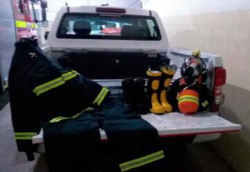 Bomberos Voluntarios de Hernando con nuevos equipos