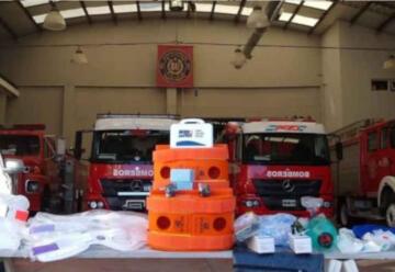 Bomberos adquirieron 800 mil pesos en equipamiento