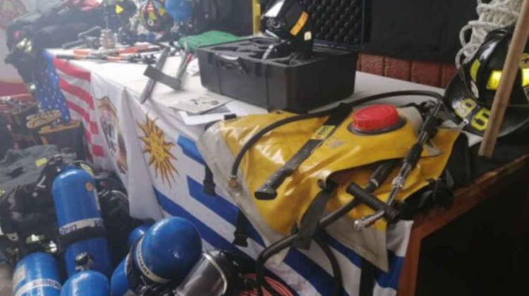 Bomberos de Uruguay recibió importante donación