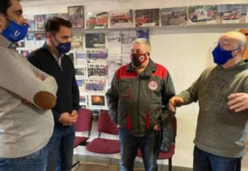Bomberos de Tierra del Fuego recibieron la tarjeta +U