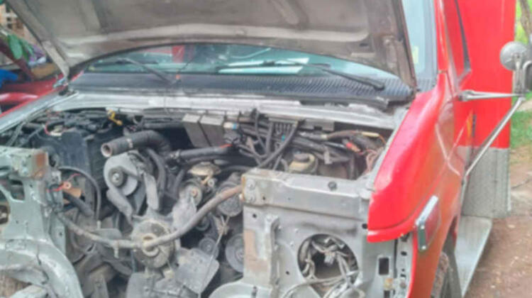 En mal estado los vehículos de Bomberos de Siguatepeque