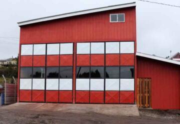 Construyen cuartel de bomberos en el sector de Cheted