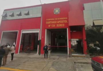 Remodelan infraestructura de compañía de bomberos Santiago Apóstol