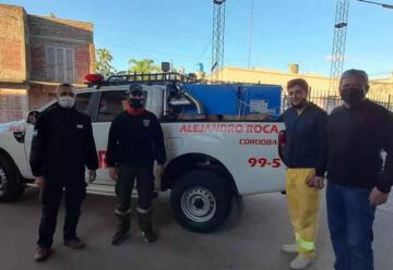 Nuevos equipamientos para Bomberos de Alejandro Roca