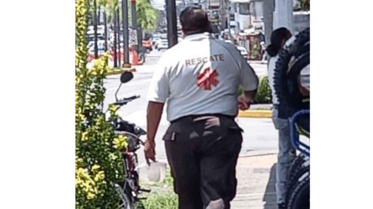 Alertan por falso bombero que pide dinero en Córdoba