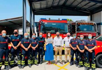 Incorporan al parque de bomberos un camión ligero con 1.800 litros de capacidad