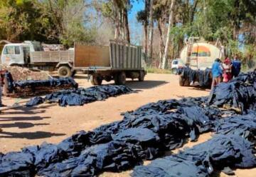 Hallan deteriorado material donado para los bomberos de Tarija