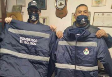 Bomberos Voluntarios de El Bolsón recibió indumentaria
