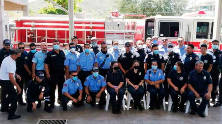 Olvidan festejar el Dia del Bombero en Guaymas
