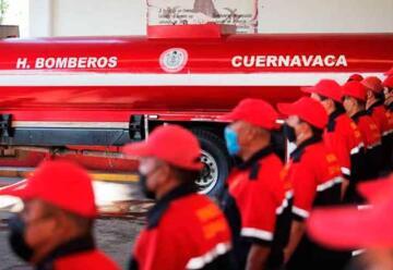Bomberos de Cuernavaca estrenarán camiones