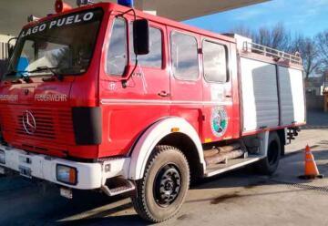 El cuartel de Bomberos de Lago Puelo suma una nueva unidad